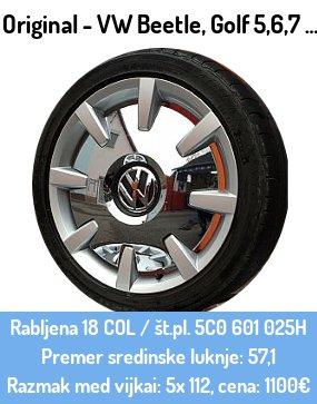 VW Beetle nova platišča